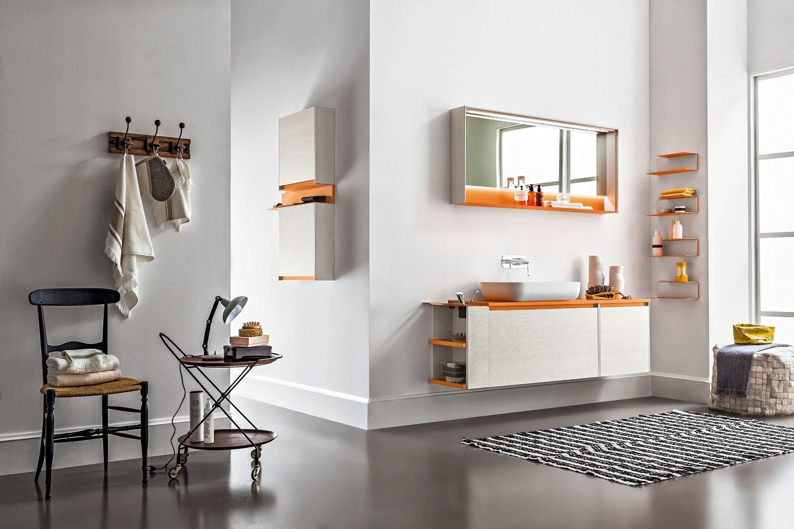 I mobili lavabo sospesi sono i protagonisti dell arredo bagno - Mini lavabo bagno ...