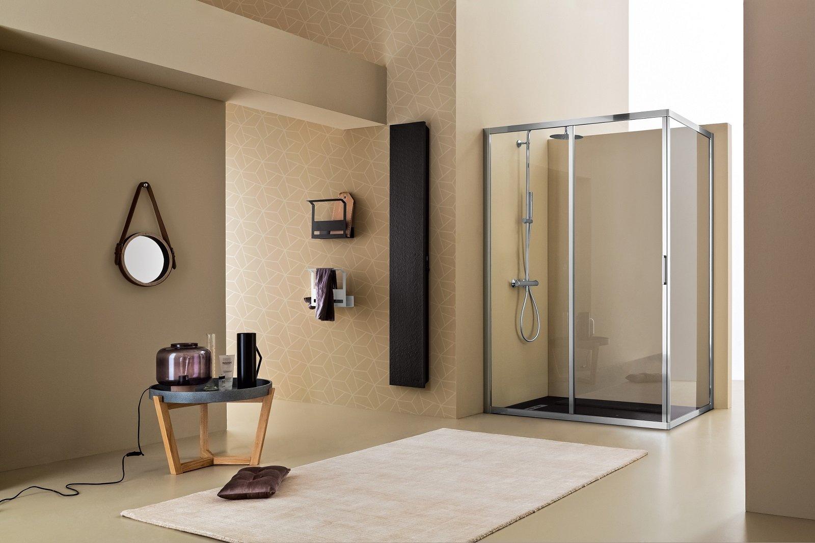 Il box doccia è funzionale bello e sicuro per un totale relax sotto