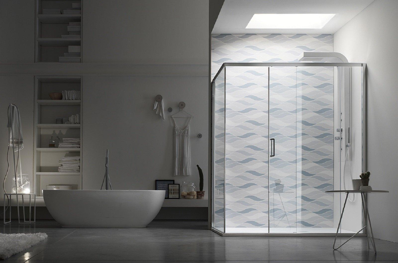 Il box doccia è funzionale bello e sicuro per un totale relax