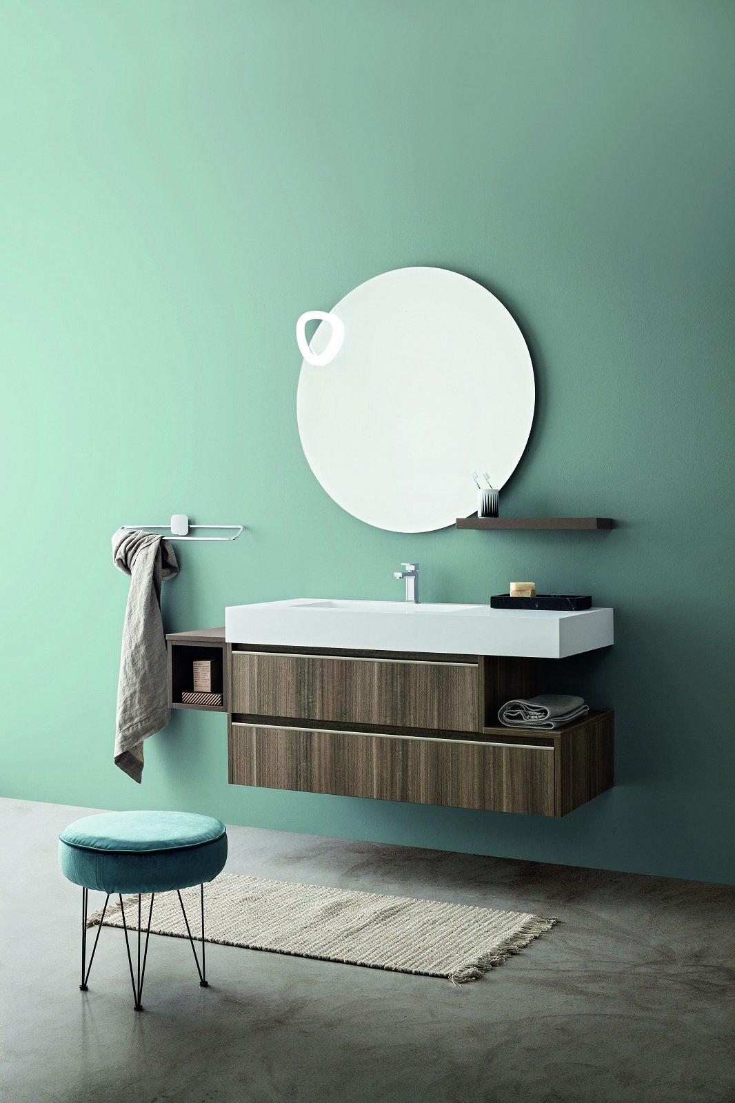 I mobili lavabo sospesi sono i protagonisti dell arredo bagno - Arredo bagno ozzano dell emilia ...