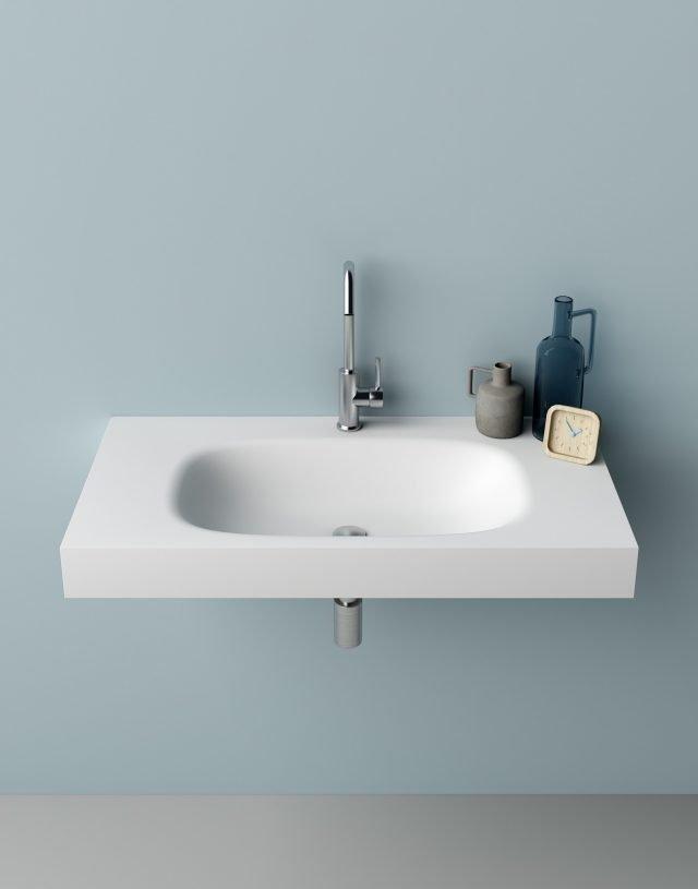 5planit stretch lavabo sospeso