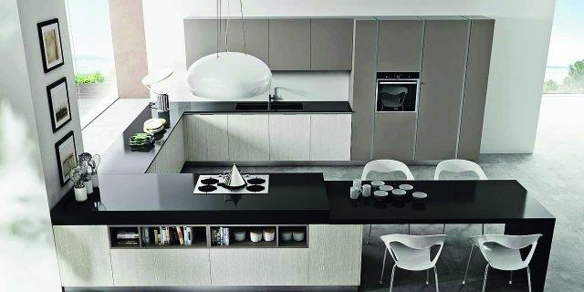 Top Quarzo Nero Veneta Cucine.Top Della Cucina Quale Materiale Scegliere Per Il Piano Di Lavoro
