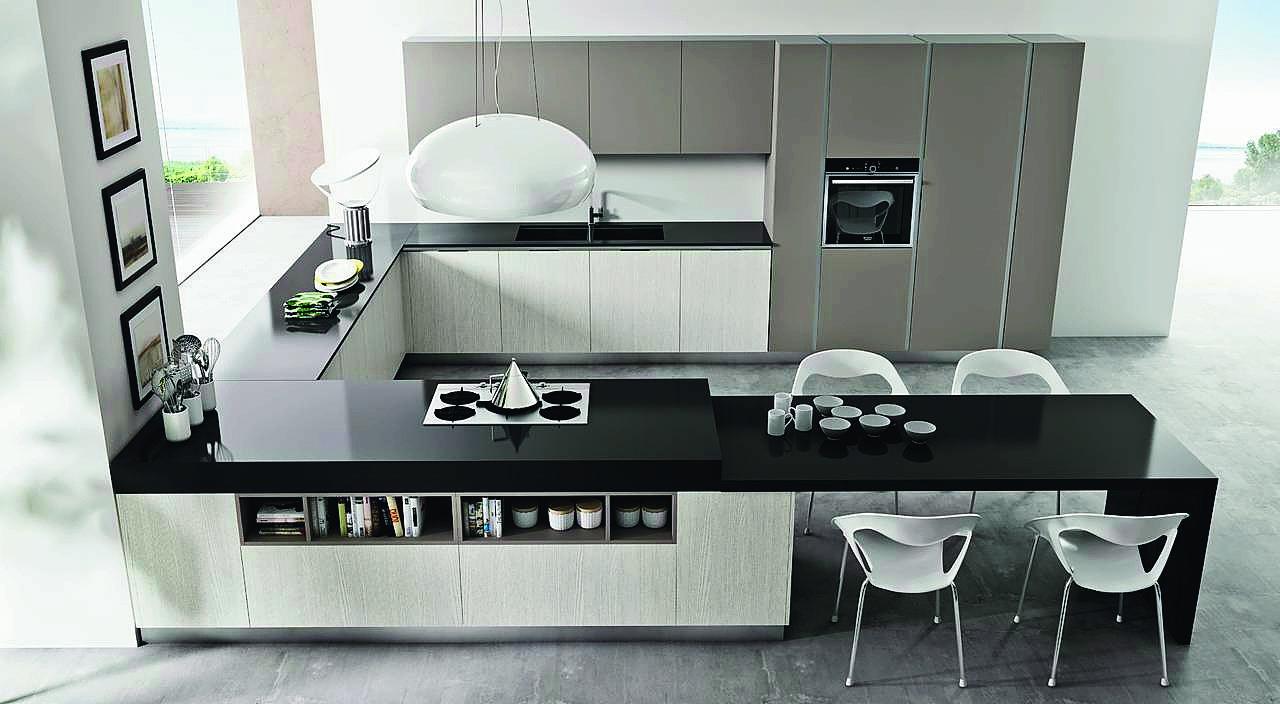 Top della cucina quale materiale scegliere per il piano for Piani di casa con grandi cucine
