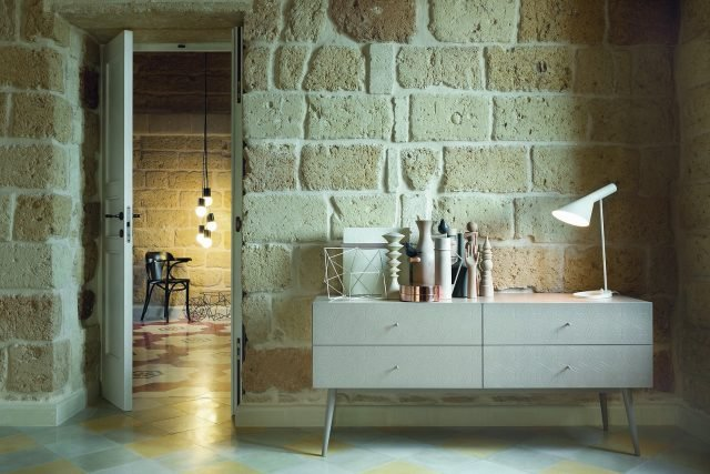 Cassettiera coll. Tiles di Barba Design