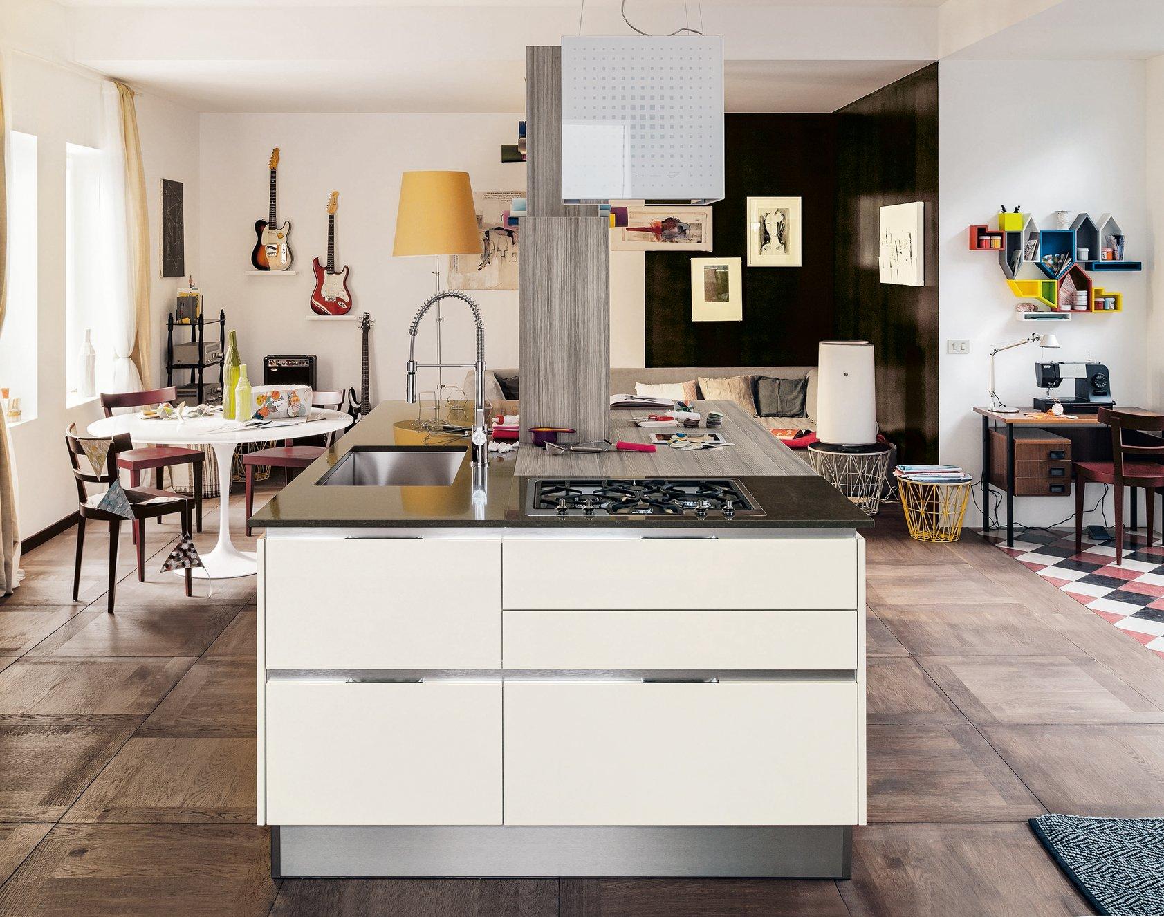 top della cucina quale materiale scegliere per il piano