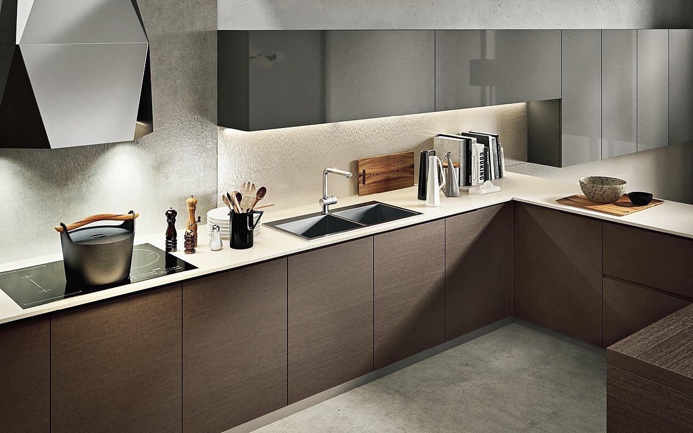 Top della cucina quale materiale scegliere per il piano - Top cucina acciaio prezzi ...