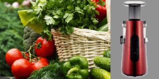 Slow juicer: l'estrattore di succo di verdure e frutta, a spremitura lenta