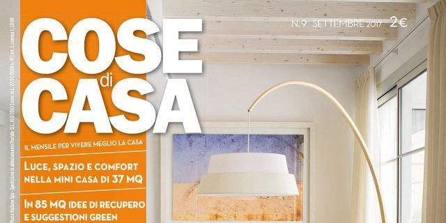 Copertine numeri della rivista cose di casa pubblicati in for Case arredate con gusto