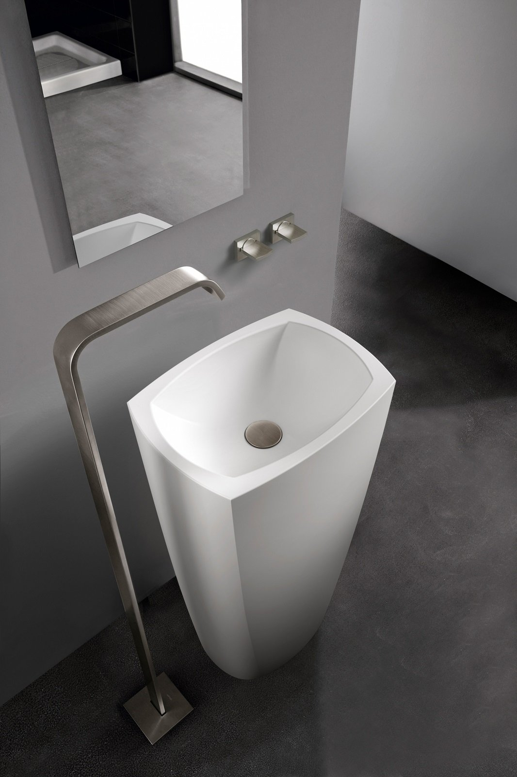 Lavabo con colonna in stile classico e moderno e modelli in un solo pezzo - Non solo bagno milazzo ...