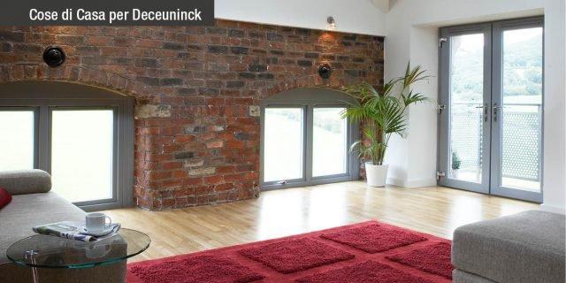 La Thermofibra Deceuninck: per finestre leggere, resistenti, con profili stretti per la massima luminosità
