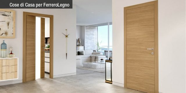 Porte come elementi d'arredo: le novità della collezione Replica di FerreroLegno