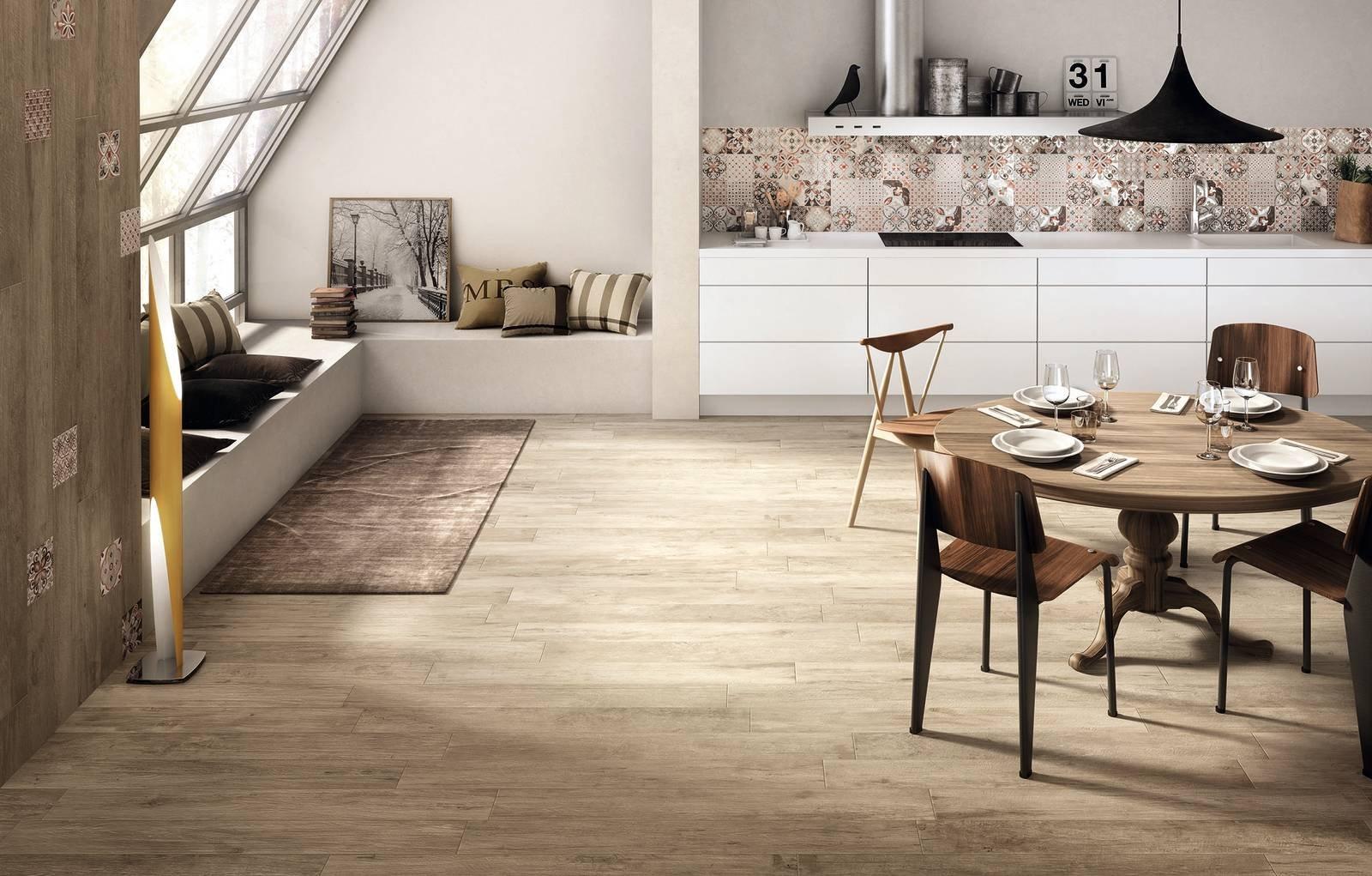 Come abbinare pavimento e rivestimento 5 soluzioni da copiare cose di casa - Soluzioni no piastrelle cucina ...