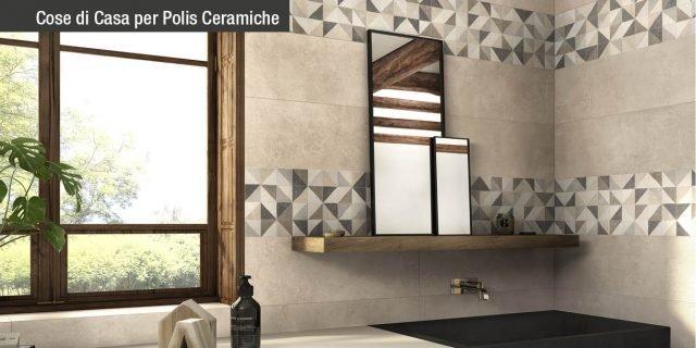 Piastrelle per il bagno: dallo stile contemporaneo al classico, tendenze e atmosfere con Polis Ceramiche
