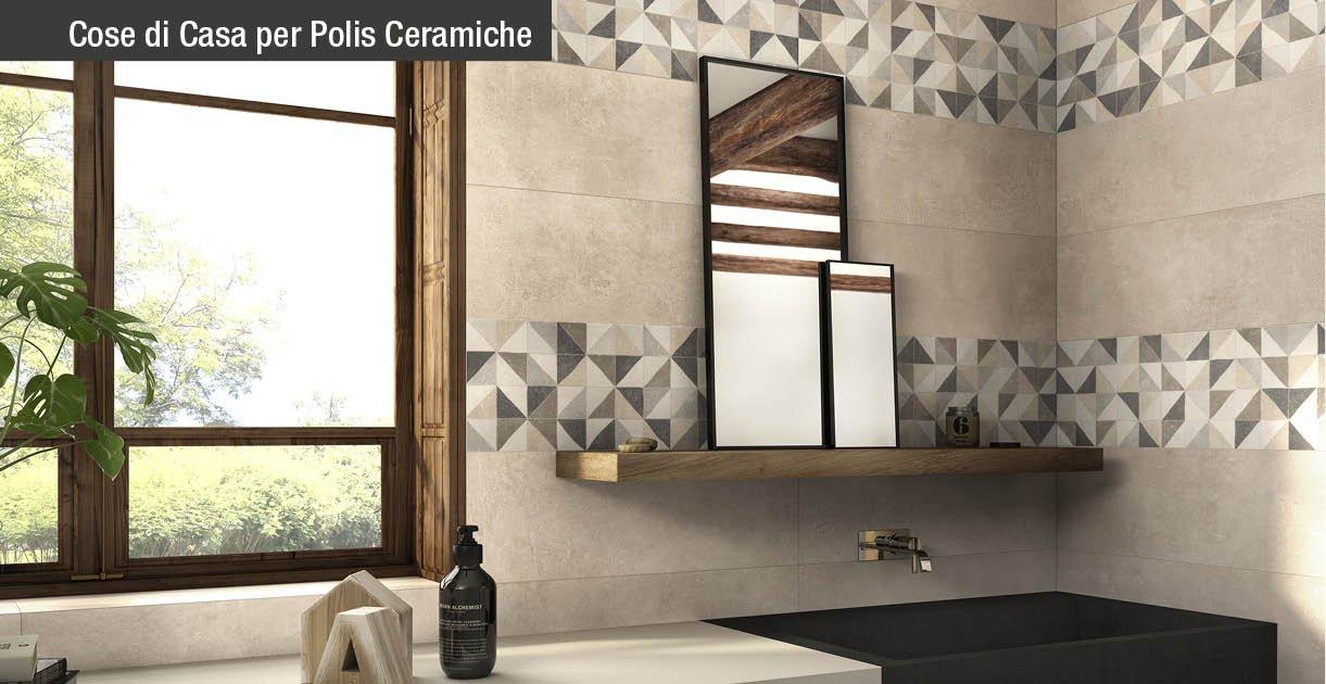 Piastrelle per il bagno dallo stile contemporaneo al - Puzza dallo scarico bagno ...
