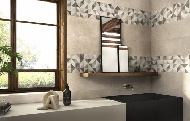 Piastrelle per il bagno dallo stile contemporaneo al classico
