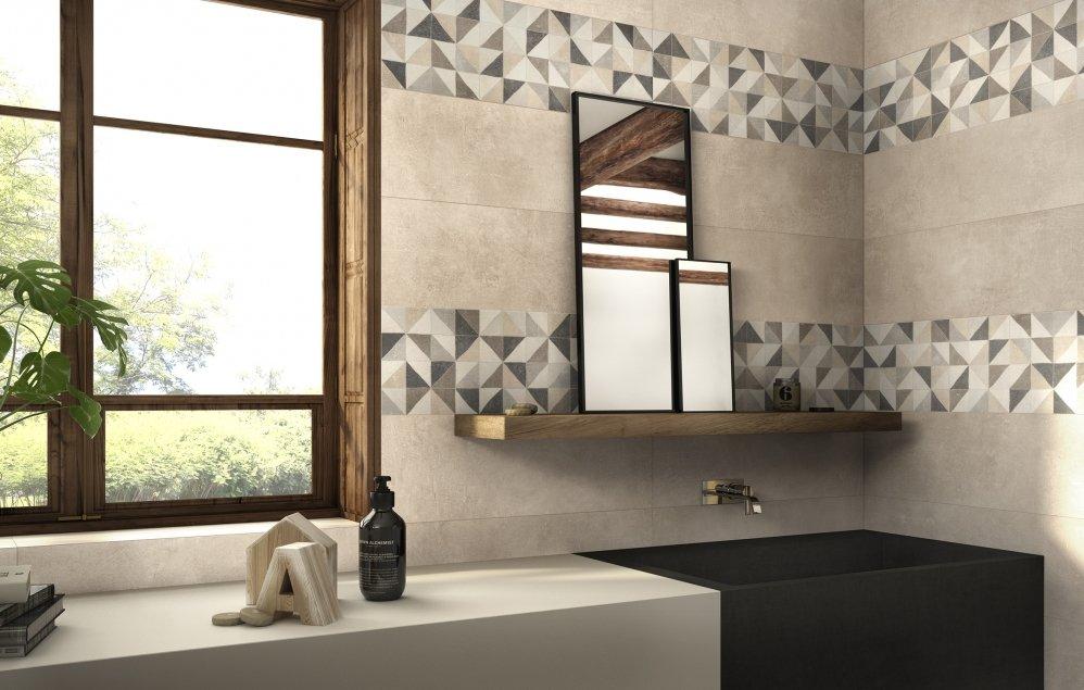 Piastrelle per il bagno dallo stile contemporaneo al - Piastrelle per bagno classico ...