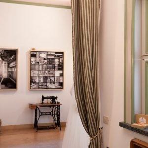 L'ex Atelier di sartoria Corradi, oggi Cavallo Spose, progettati dall'architetto Enrico De Angeli
