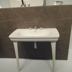 The Artceram, lavabo a console