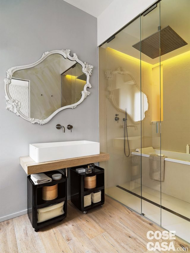 150 mq tutti da copiare dalla divisione soggiorno cucina - Arredare bagno 4 mq ...