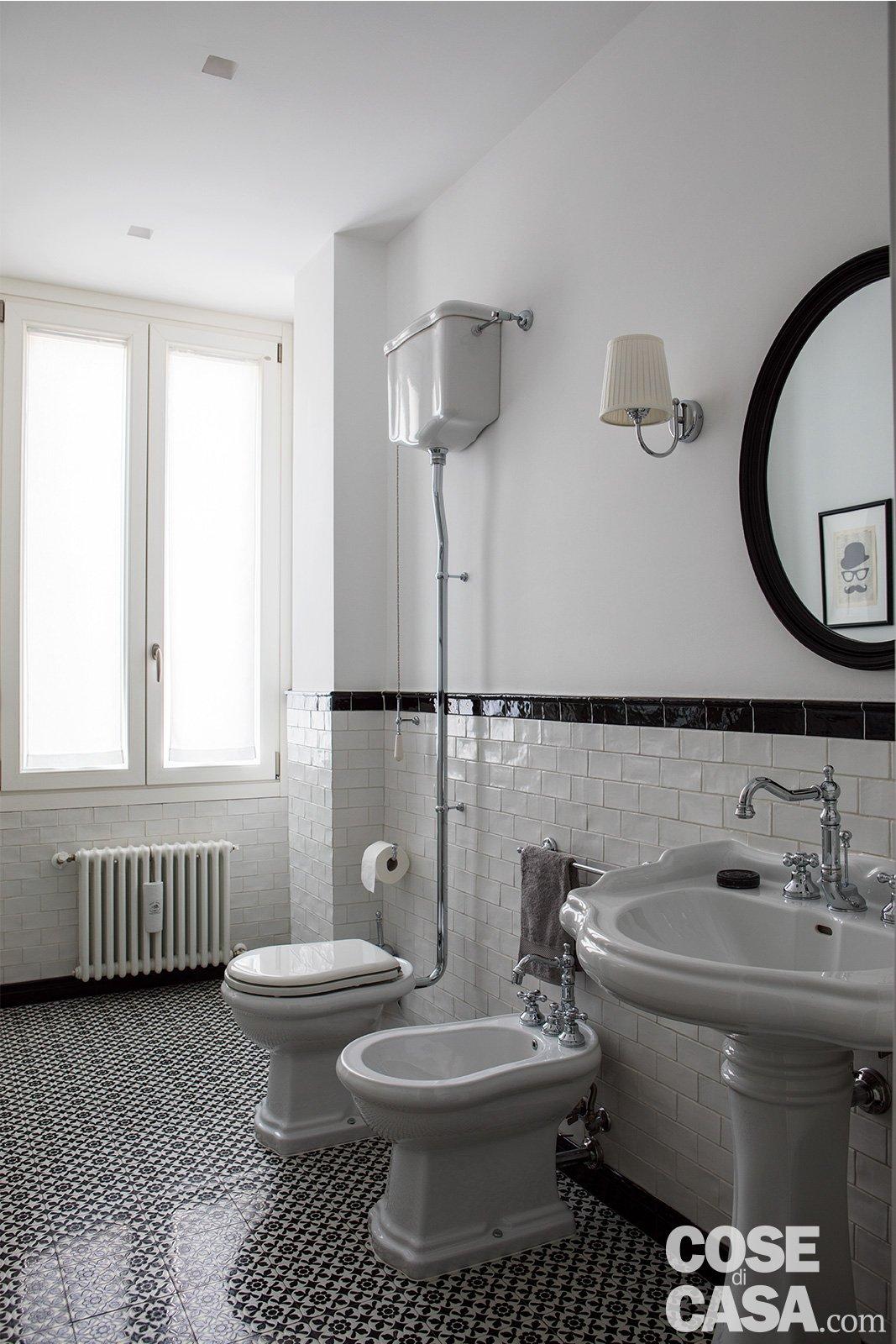 Piastrelle Bagno Vintage Anni 50.Una Casa Industrial Style 90 Mq Di Tendenza Cose Di Casa