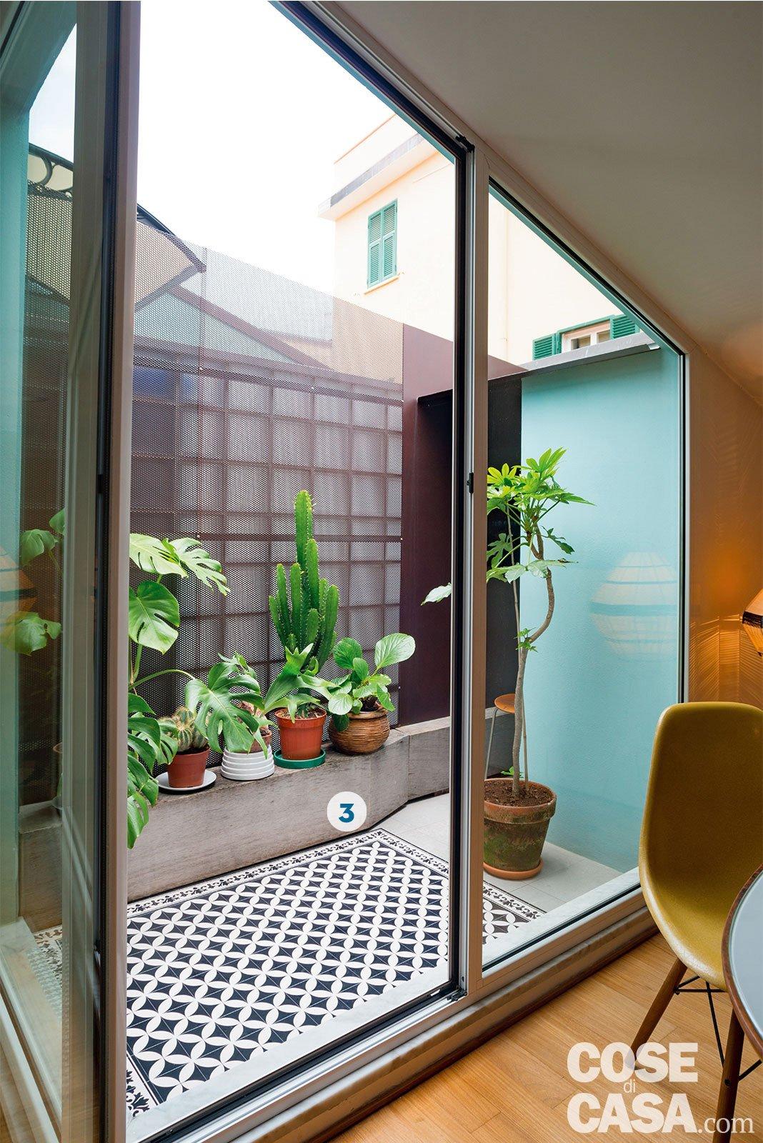 Design anni 39 50 e 39 60 nella mini casa con vista cielo for Disegni di casa piano aperto