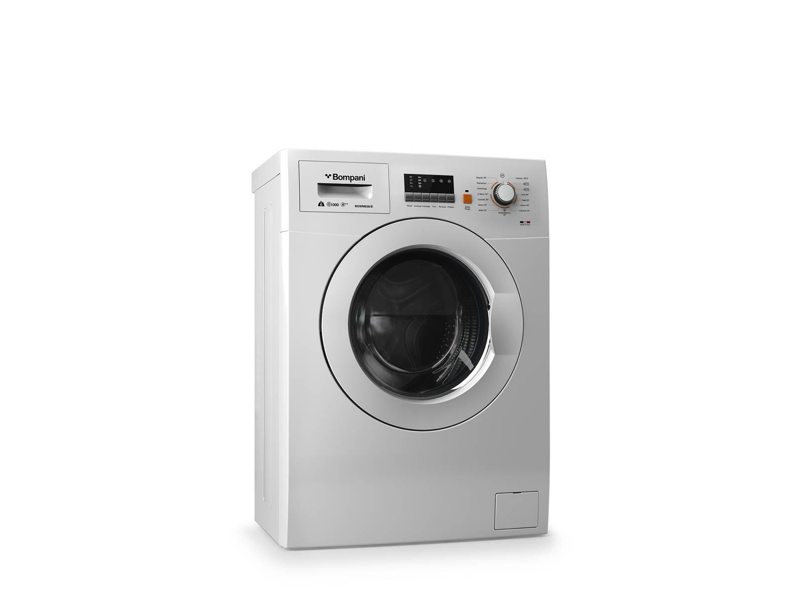 ... La Lavatrice A Carica Frontale Lavinia Mod. BOWM639/E Di Bompani è  Profonda 39 ...