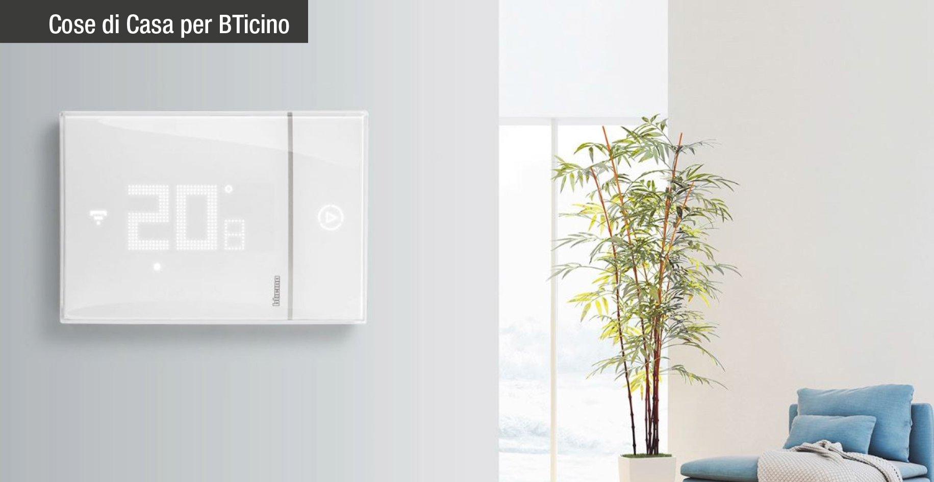 Smarther by bticino un nuovo concetto di termostato - Smarther bticino ...