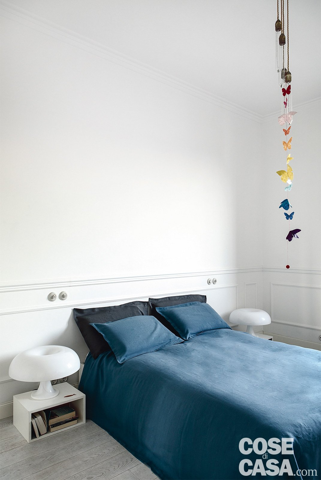 85 mq una casa in stile classico contemporaneo cose di casa for Camera da letto stile classico