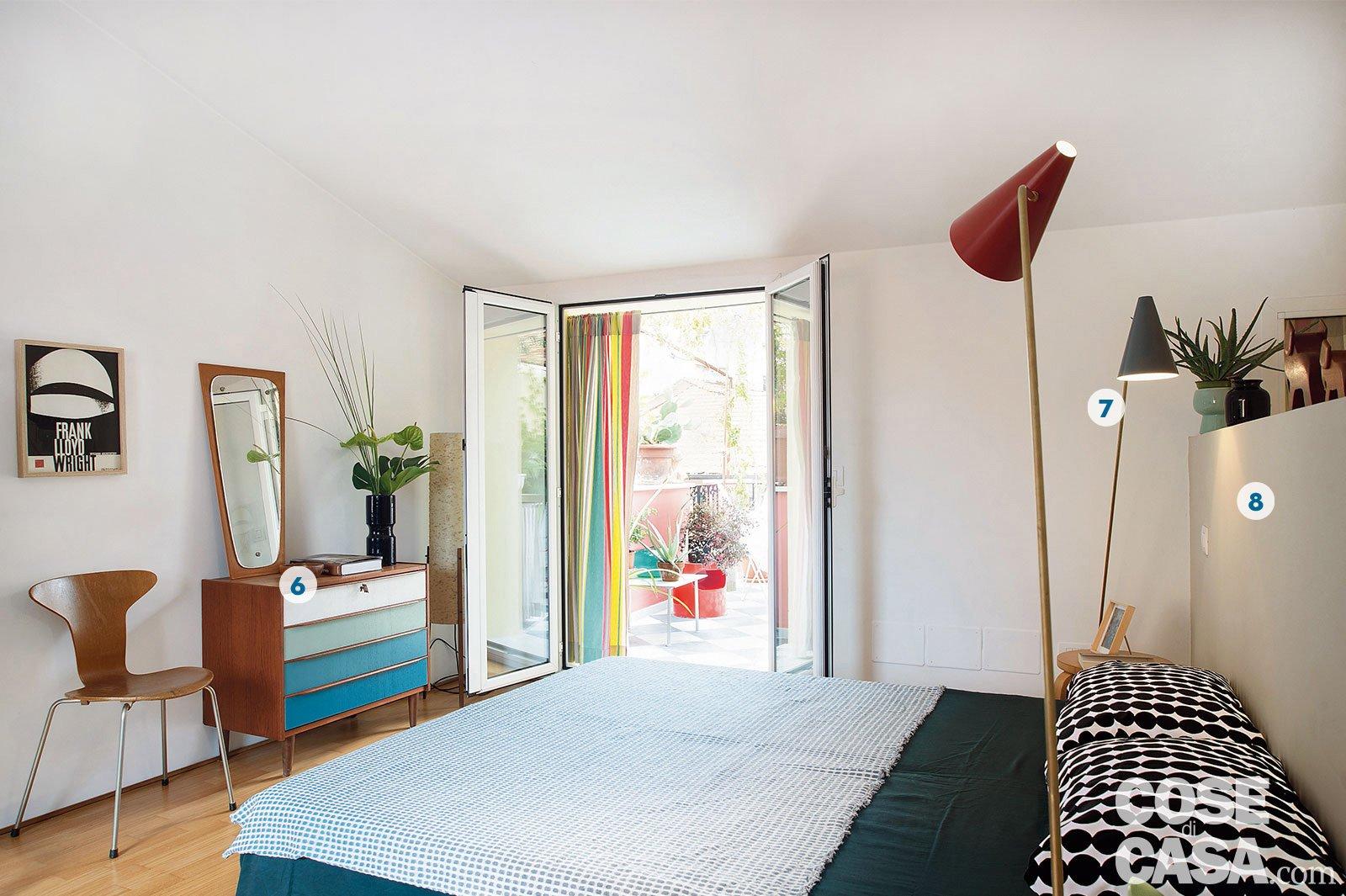 Camera Da Letto Anni 50 60 : Design anni 50 e 60 nella mini casa con vista cielo cose di casa