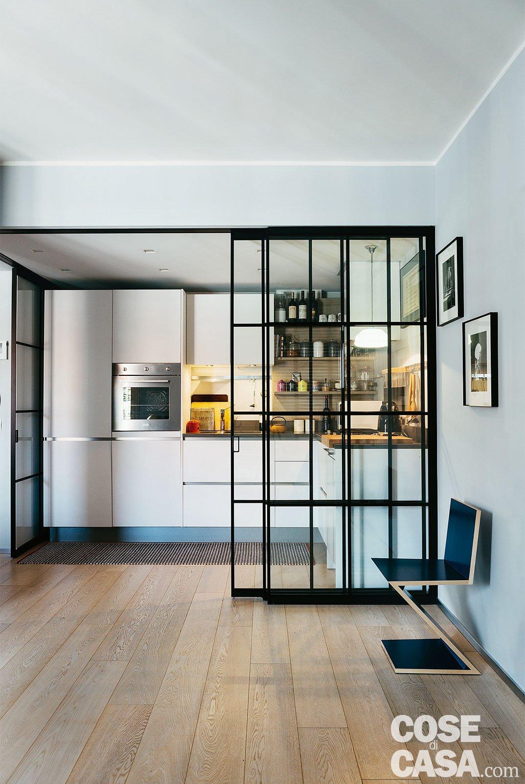 Cucina porta a vetri cose di casa - Cucina 10 mq ...