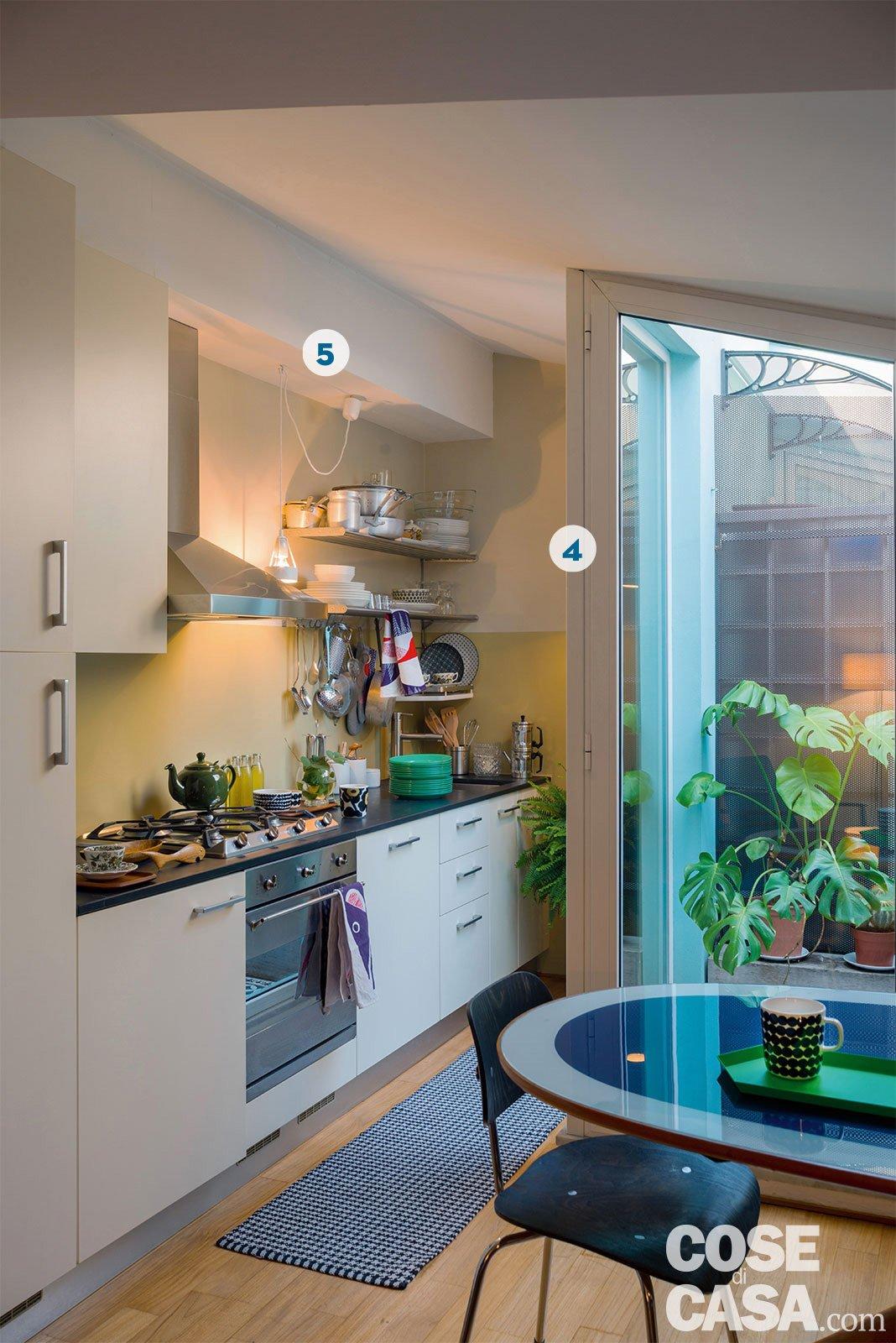 Design anni \'50 e \'60 nella mini casa con vista cielo - Cose di Casa