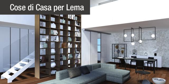 Sfruttare l'altezza con gli arredi giusti: progetto di interior design in 3D