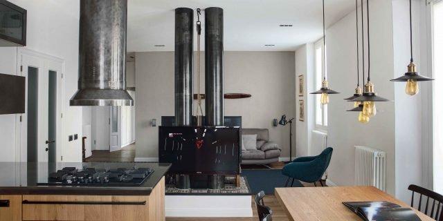 Una casa industrial style: 90 mq di tendenza