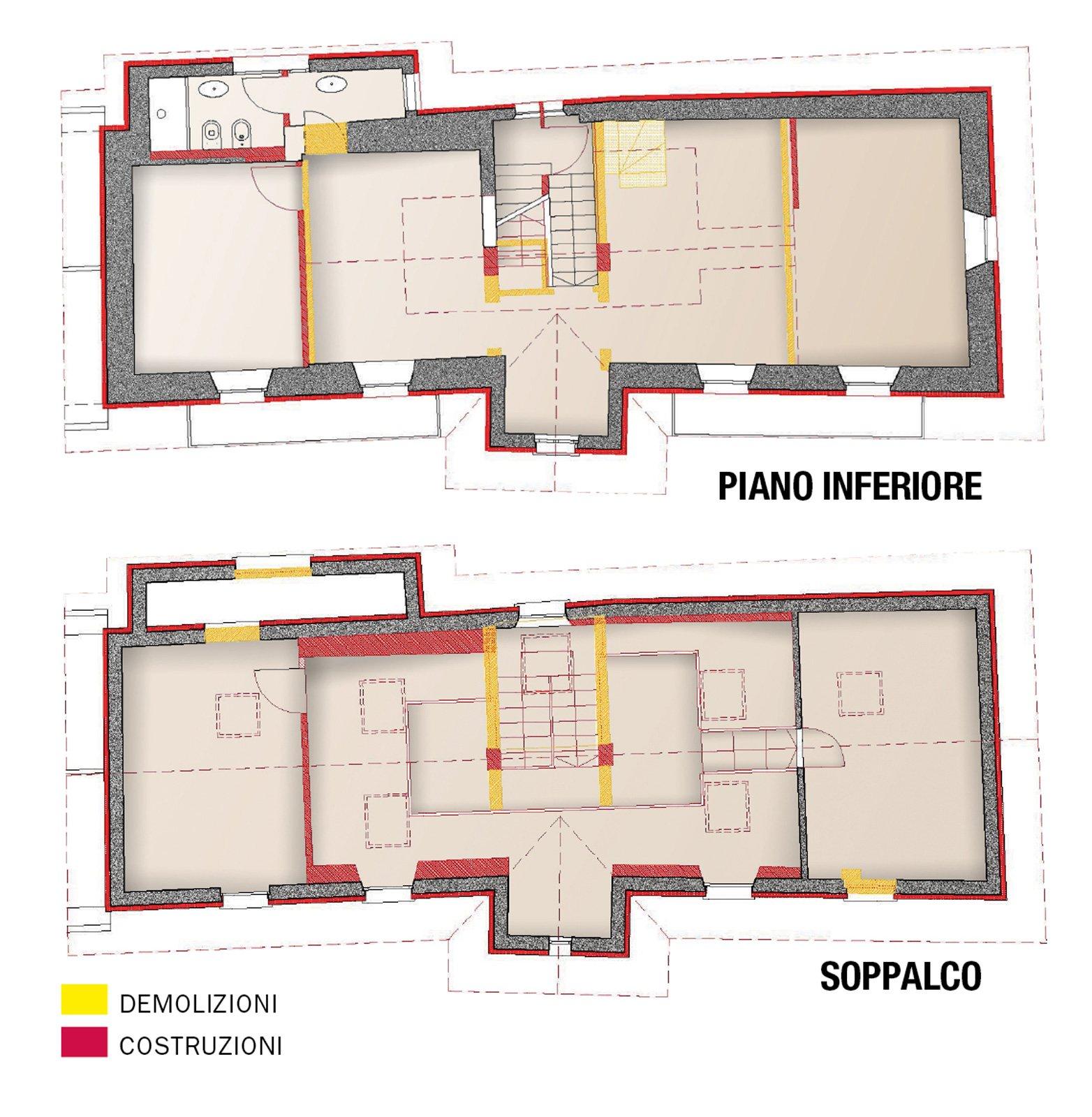 Progetto casa 100 mq un piano simple costo per mq uac iva - Costo costruzione casa al mq ...