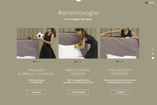 Alcuni dei video della web serie disponibili sul sito www.sinonlovoglio.it