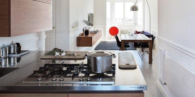 85 mq: una casa in stile classico contemporaneo