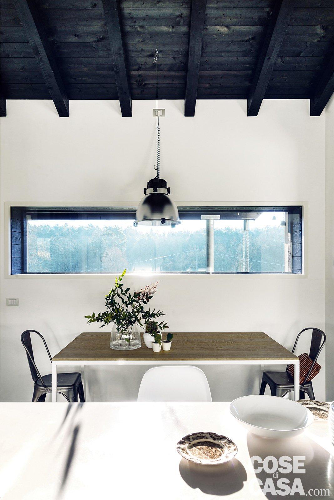 145 mq terra tetto ampi volumi a doppia altezza come in un loft con soppalco sottotetto cose - Altezza parapetto finestra ...