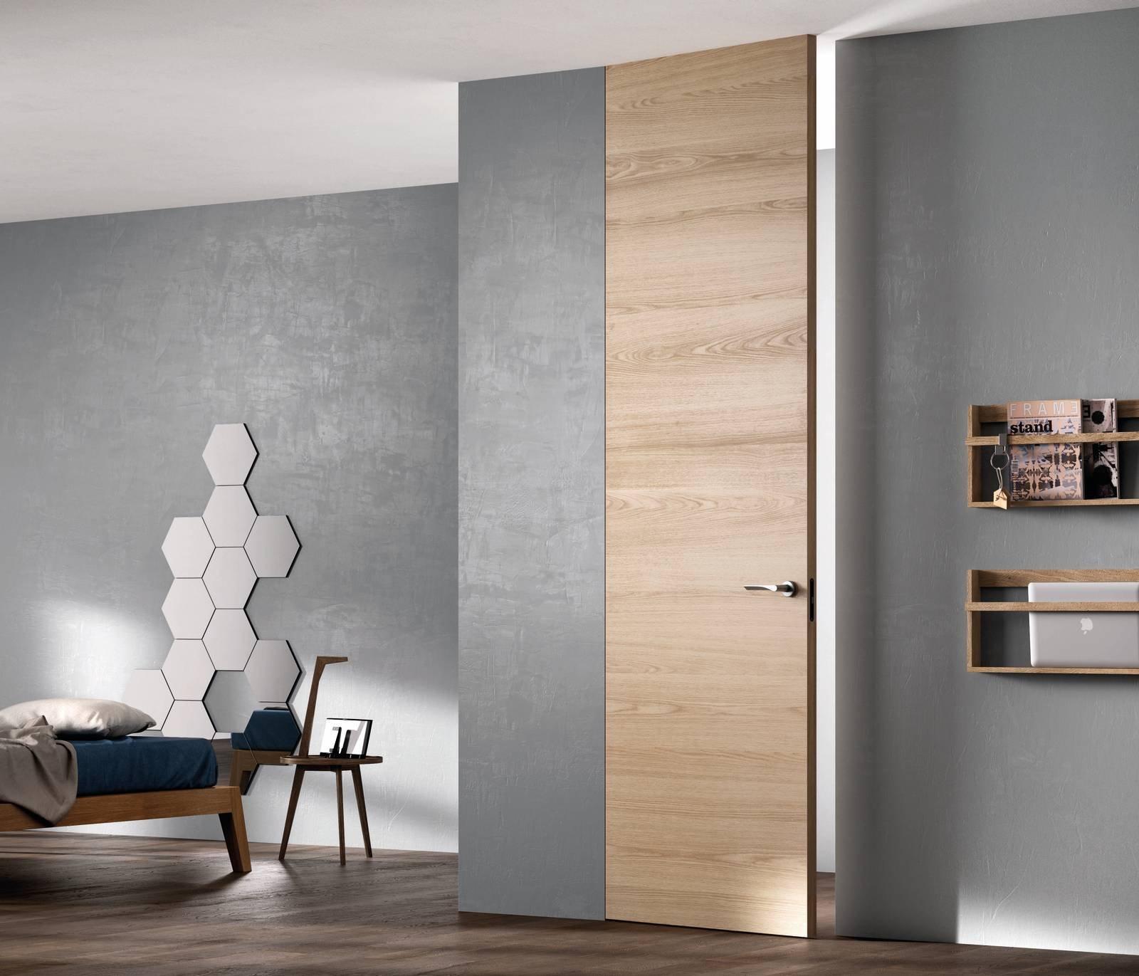 Sistema Zero: porte filomuro di FerreroLegno, arredi di puro design ...