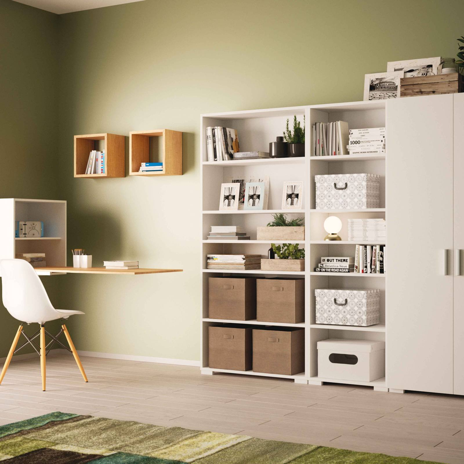 home office arredare una zona studio a seconda dello spazio cose di casa. Black Bedroom Furniture Sets. Home Design Ideas