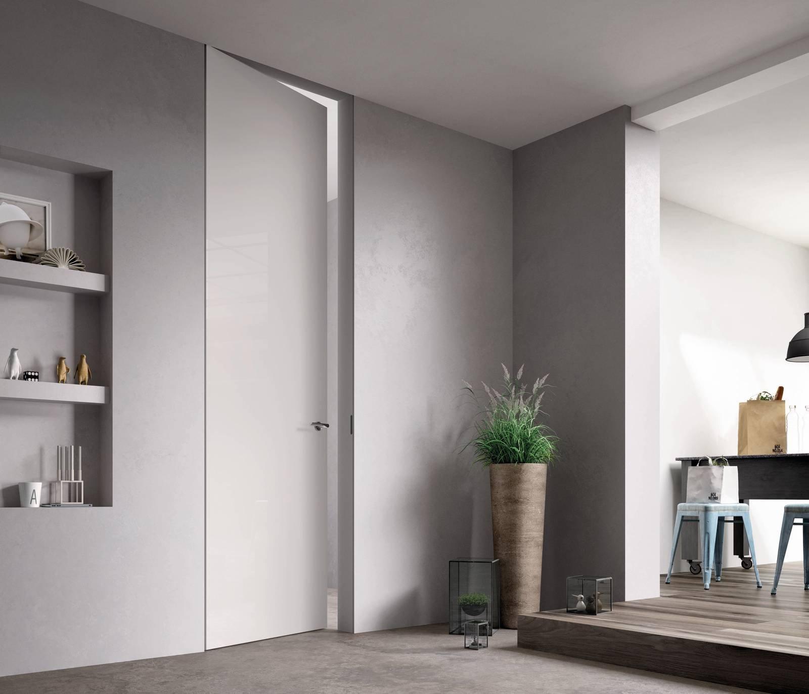 Sistema Zero Porte Filomuro Di Ferrerolegno Arredi Di Puro Design