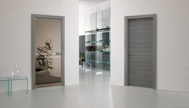 La porta a battente la pi tradizionale tra le varie tipologie di porte - Telaio porta scrigno prezzo ...