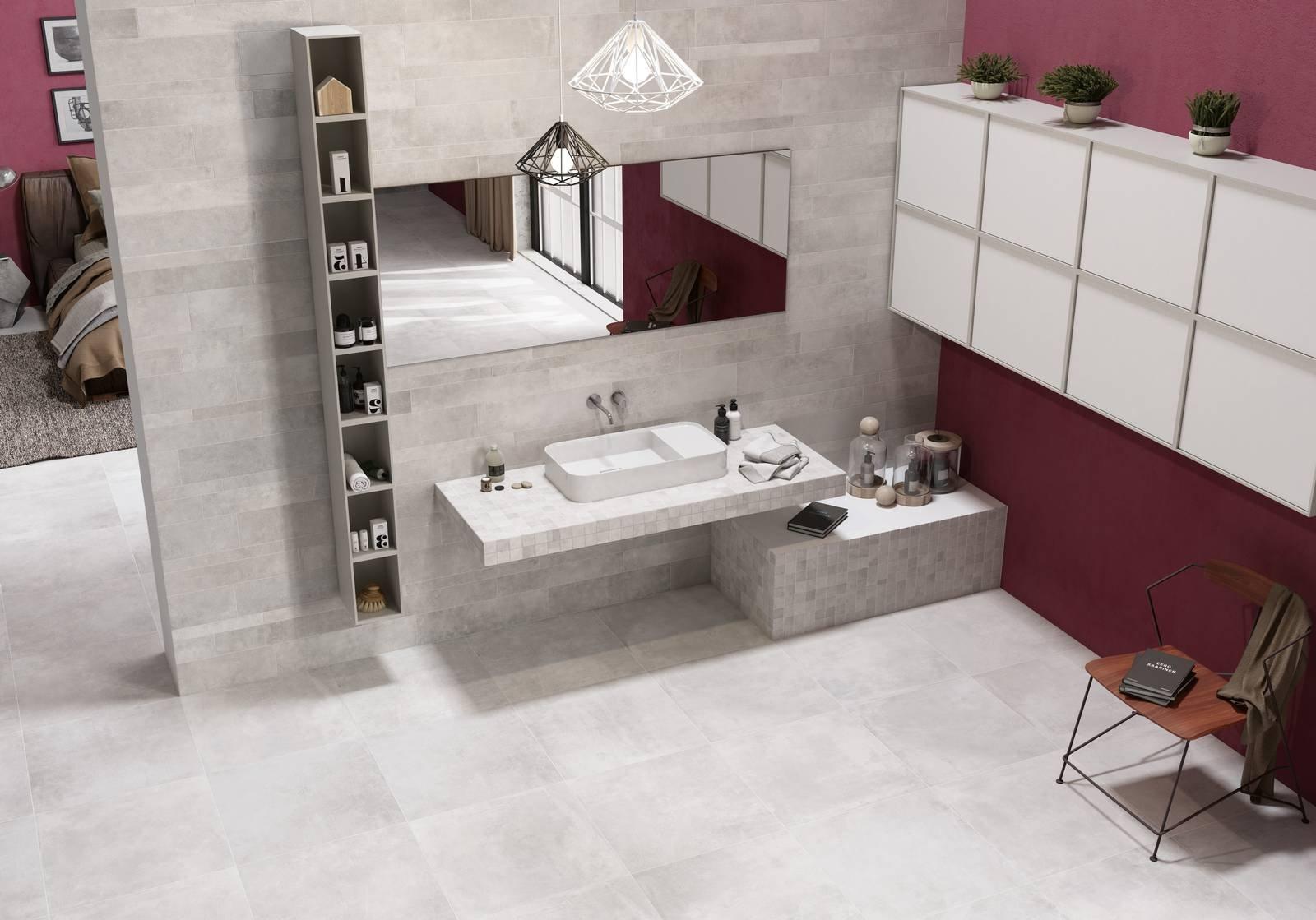 Piastrelle un bagno di stile con le collezioni - Piastrelle rettificate ...