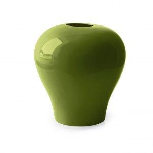 Bluma Green di Calligaris è il vaso in ceramica verde lucida con un'elegante forma bombata. Perfetto sistemato da solo o in gruppo sopra il comò Impero. Misura ø 29,5 x H 31 cm. Prezzo  97 euro. www.calligaris.it