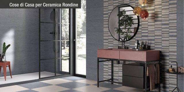 Piastrelle: un bagno di stile con le collezioni 6ZeroCollection di Ceramica Rondine!