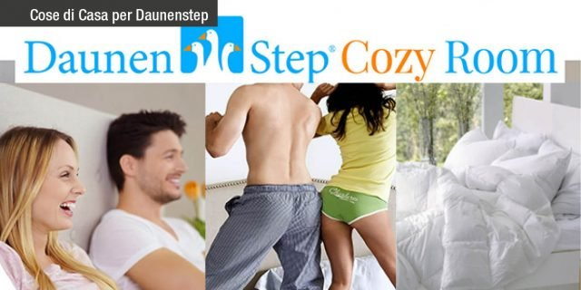Daunenstep cozy room: la camera da letto in vetrina