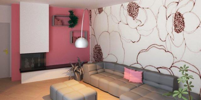 Un soggiorno difficile da arredare: pareti non ...