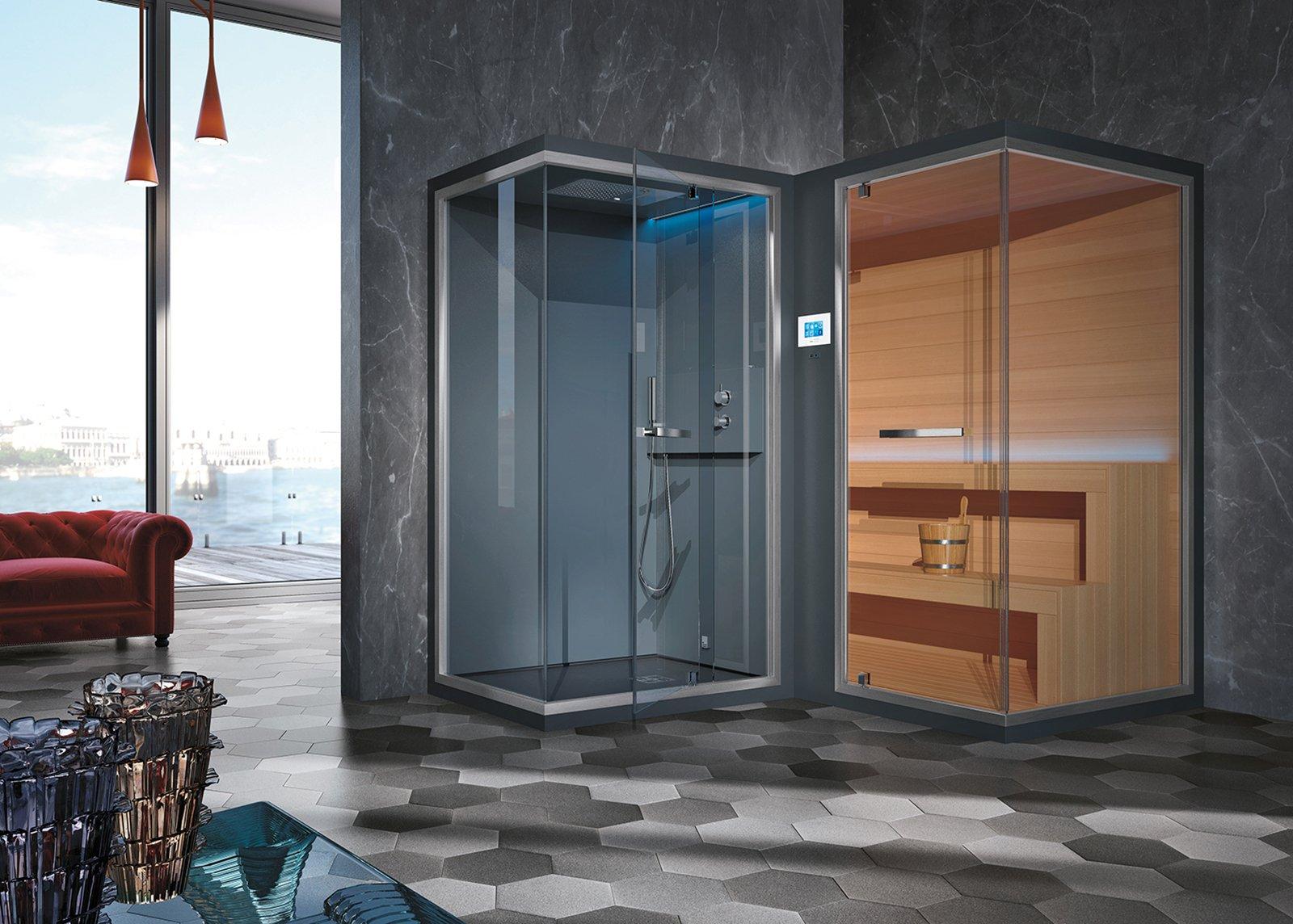 Total living bathroom il bagno firmato hafro geromin cose di casa - Sauna e bagno turco ...
