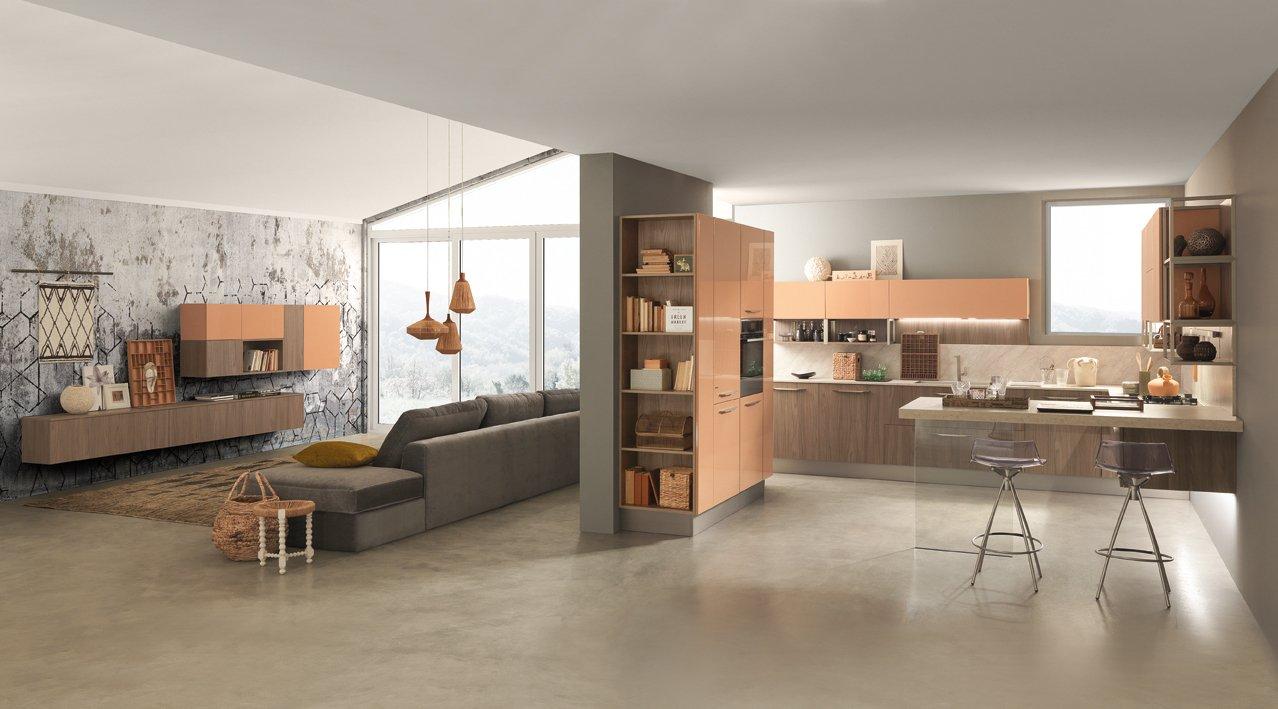 Consigli per arredare la cucina e il living prima di for Arredare la cucina