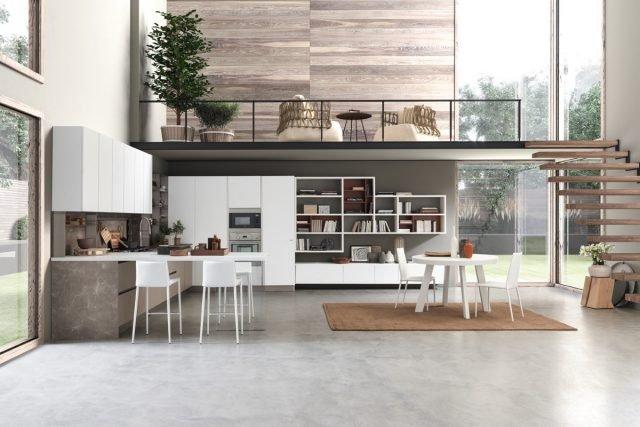 Best Zona Living Con Cucina Photos - Embercreative.us - embercreative.us