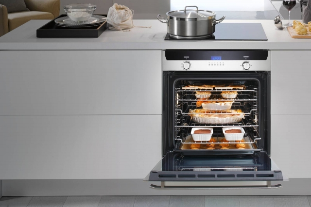 Fisher&Paykel De'Longhi Cookers - SLM 8 XL - header Forno maxi cavità